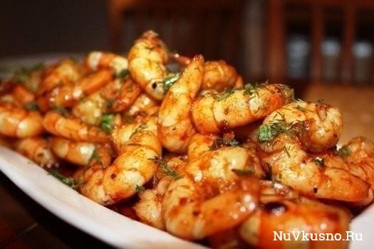 10 рецептов с креветками