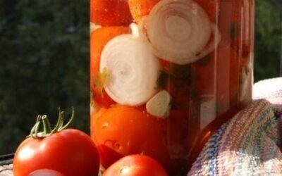 5 простых рецептов закруток с помидорами