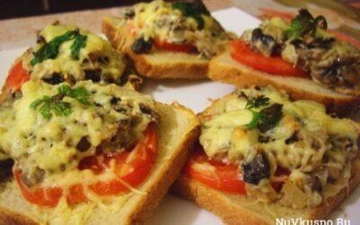5 рецептов горячих бутербродов