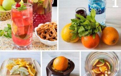 5 рецептов лимонада для жарких дней