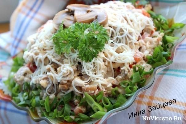 7 рецептов приготовления вкуснейших салатов