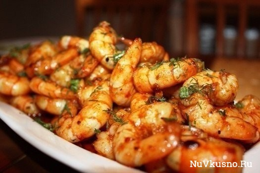7 рецептов с креветками