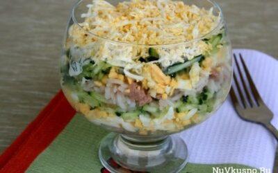8 рецептов красивых салатов к новому году 2016