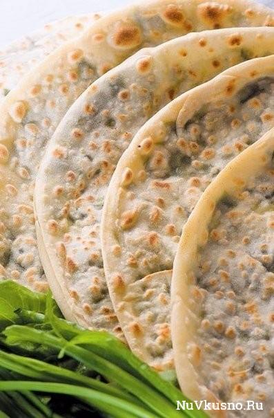 Афарар (лезгинская вегетарианская пицца)
