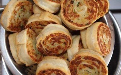 Алупатры (картофельные рулетики)