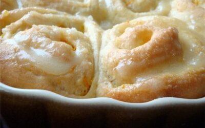 Ароматно-воздушные апельсиновые булочки