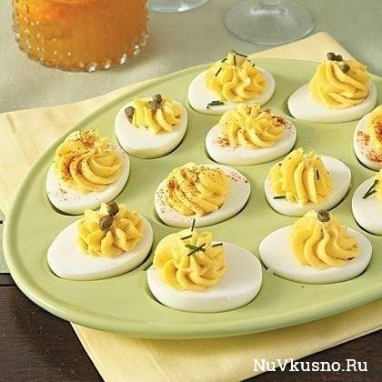 Фаршированные яйца — 26 вариантов для начинки: