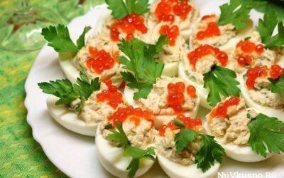 Фаршированные яйца — 26 вариантов для начинки