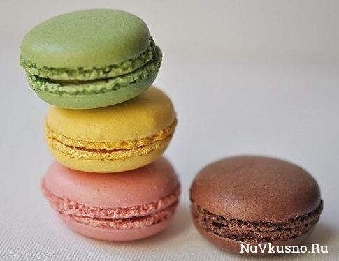 Французские печенья macarons