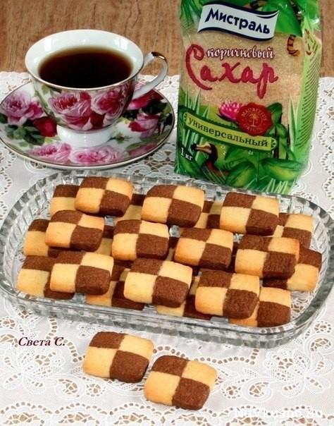 Французское печенье «сабле