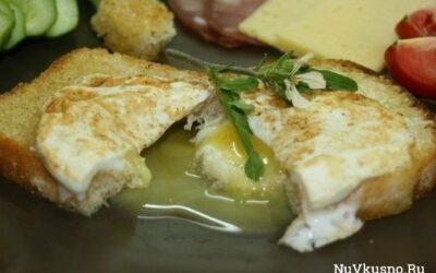 Гренки с яйцом-пашот по-английски