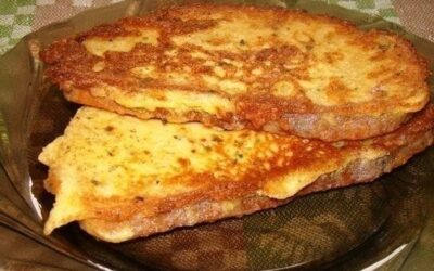 Гренки сырные