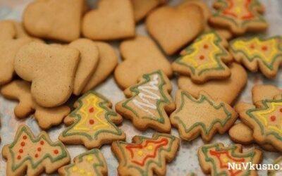 Имбирное новогоднее печенье