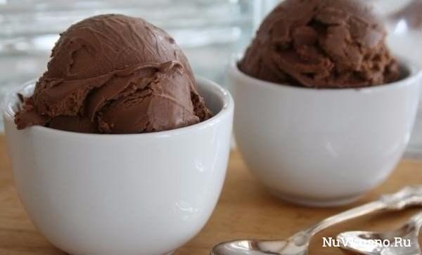 Итальянское мороженое «джелато шоколато