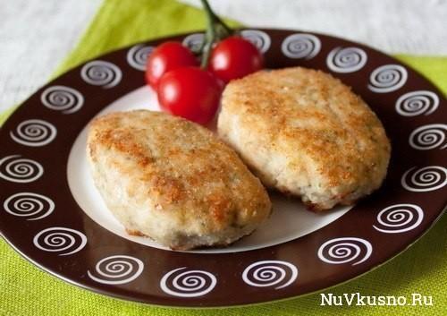 Кабачково-куриные котлеты