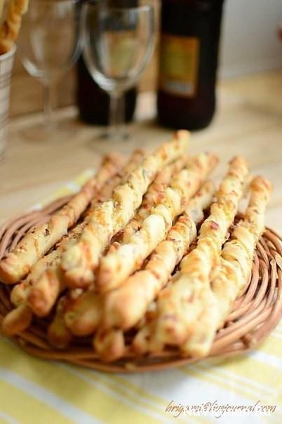Хлебные палочки к пиву