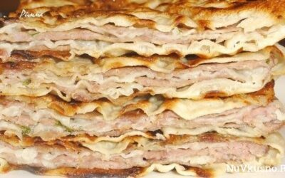 Китайские лепешки с мясом — безумно вкусные и сочные