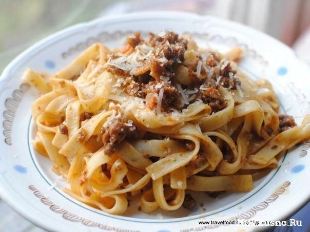 Классический соус болоньезе (sauce bolognese)