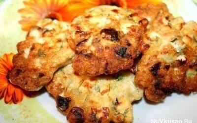 Куриные котлетки с сыром. объедение