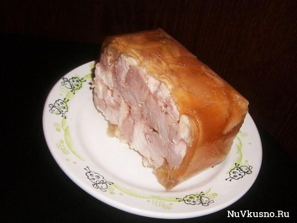 Куриный рулет «квадратный» в пакете из под сока