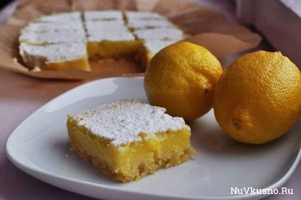 Lemon bars/ лимонные пирожные