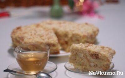 Ленивый «наполеон» или торт по-быстрому