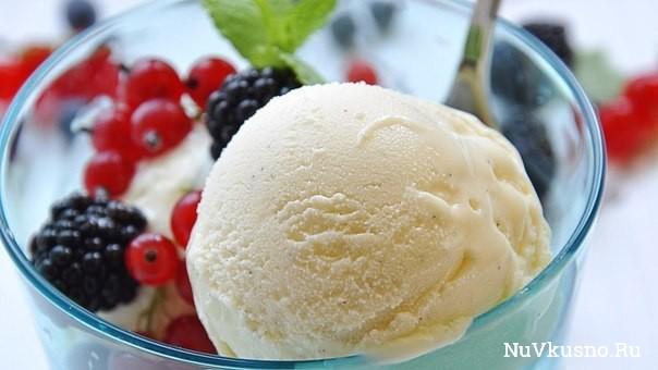 Лучшие рецепты мороженого