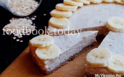Лёгкий банановый чизкейк