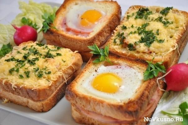Необычные и вкусные бутерброды к завтраку