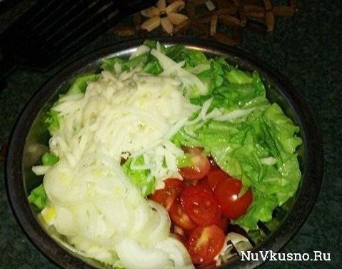 Несложные салатики на каждый день