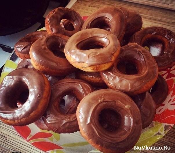 Нежные пончики