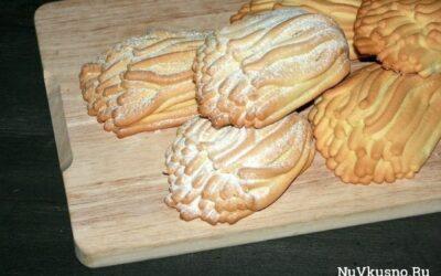Печенье «хризантемы» из детства