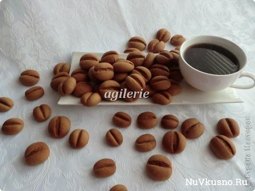 Печенье «кофейные зерна
