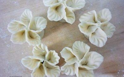 Пельмени «букет цветов
