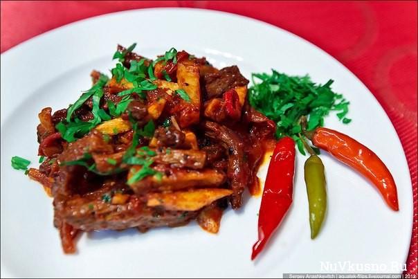 Перуанский ужин