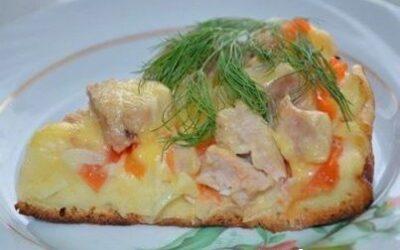Пицца «быстрее просто не бывает», жаренная на сковороде