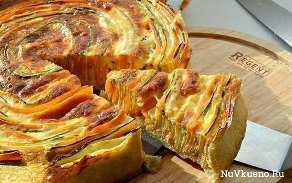 Пирог «овощная идиллия»