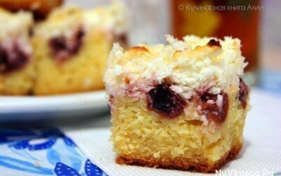 Пирог «вишневый шик»