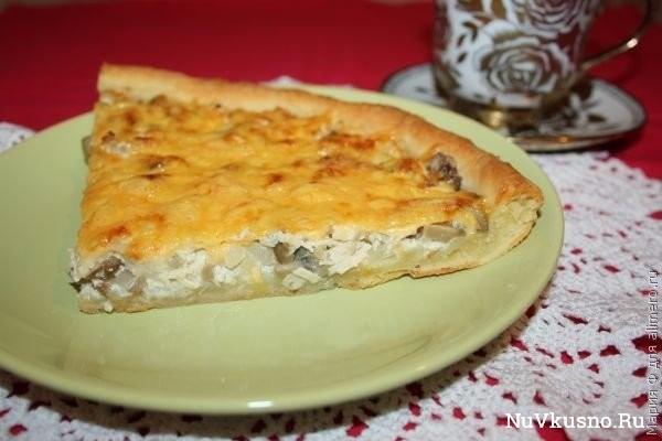 Пирог «жульен»