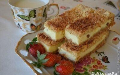 Подборка пирогов с творожной начинкой