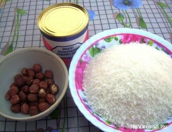Рецепт рафаэлло по-домашнему
