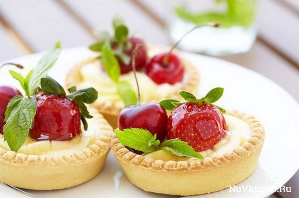 Рецепт тарталеток (2 вида теста — сладкие и под закуски)