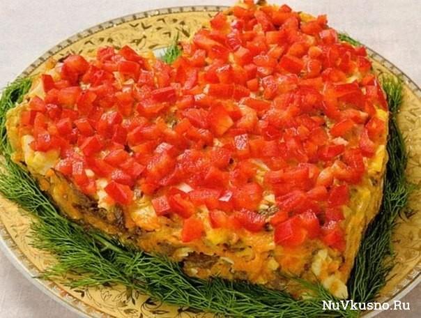 Самые вкусные салатики