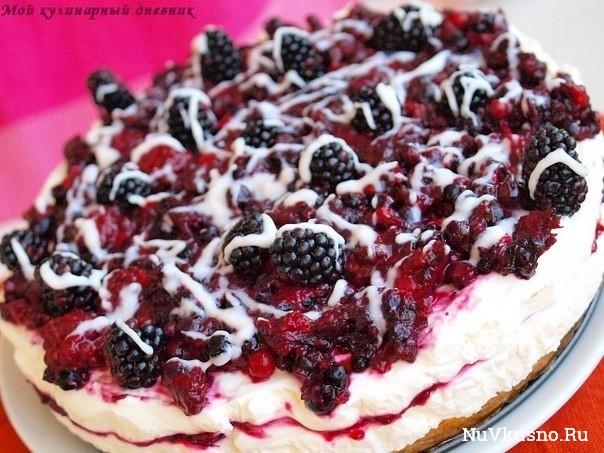 Самые вкусные торты без выпечки