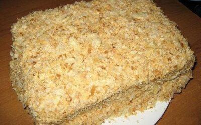 Самый быстрый и вкусный рецепт торта «наполеон