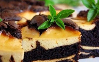 Шоколадно-банановый торт «сюрреалист