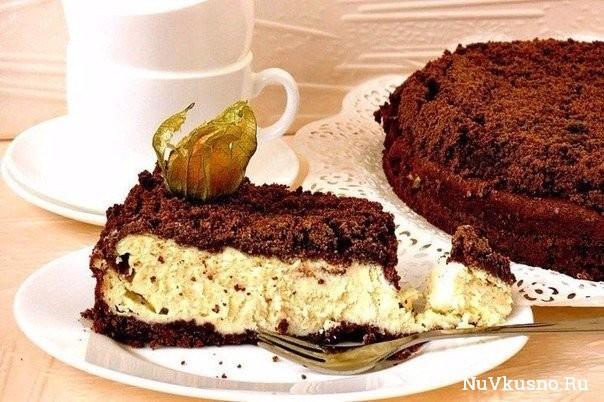 Шоколадно-творожный пирог — это очень просто