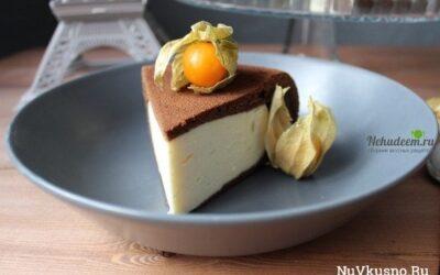 Шоколадный пирог с творожной начинкой в мультиварке