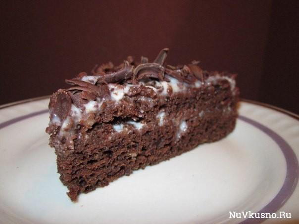 Шоколадный торт «обыкновенное чудо