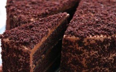 Шоколадный торт «пеле